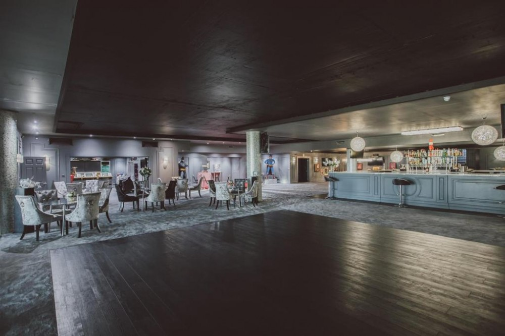 Dance floor and bar